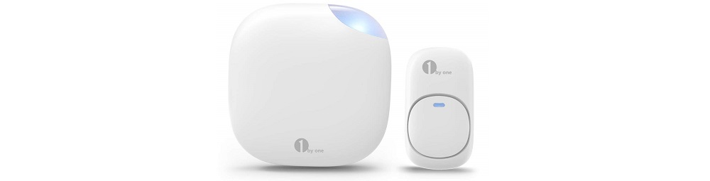 1byone Easy Chime Plug-in Wireless Doorbell