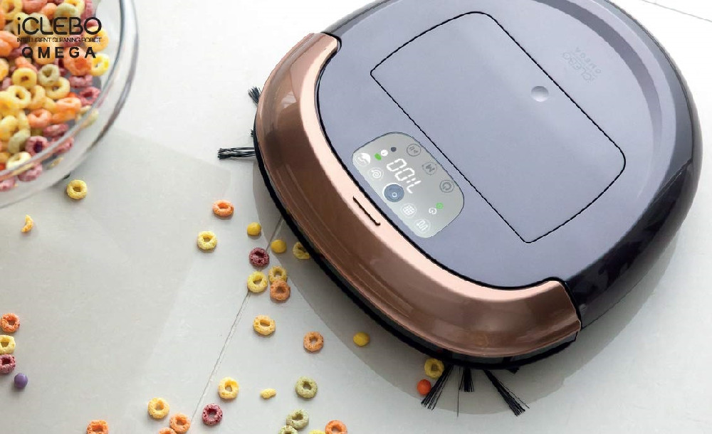 robot vacuum and mop combo