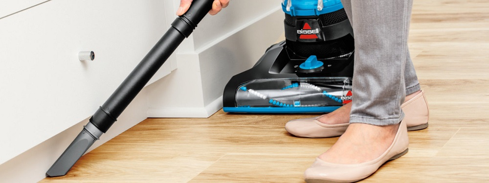 BISSELL PowerForce Helix Bagless Upright Vacuum Review (2191)