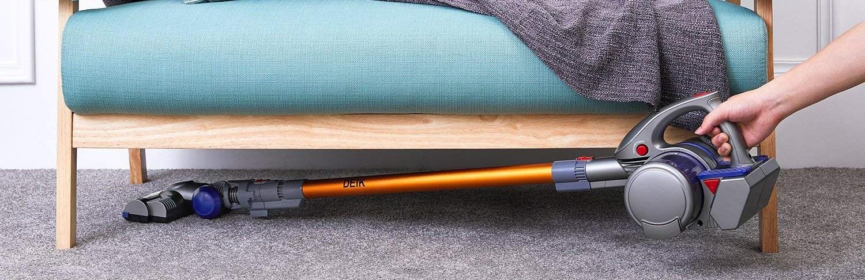 Deik Cordless Vacuum, 2 in 1 Vacuum Cleaner Review