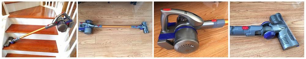Deik Cordless Vacuum, 2 in 1 Vacuum Cleaner Review (VC1606)