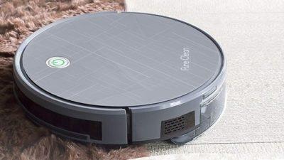 Pure Clean Smart Robot Vacuum - Gyroscope Multiroom Navigation