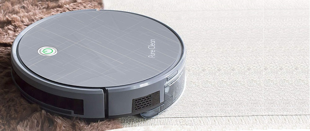 PURE CLEAN Smart Robot Vacuum Gyroscope Multiroom Review