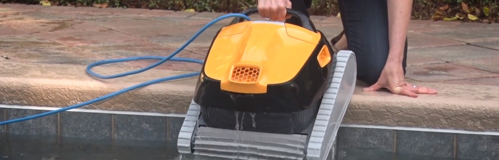 Dolphin Triton PS Plus Robotic Pool Cleaner Review