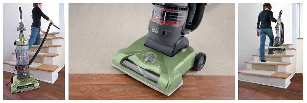 Hoover WindTunnel T-Series Rewind Plus Bagless Upright Vacuum Cleaner Review