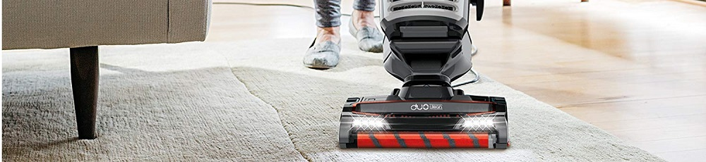 Shark DuoClean Upright Vacuum for Carpet and Hard Floor Cleaning with Lift-Away Hand Vacuum, HEPA Filter, and Anti-Allergy Seal (NV771)