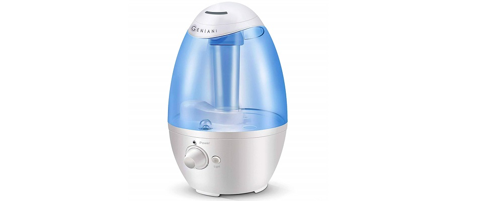 GENIANI 3L Ultrasonic Cool Mist Humidifier Review