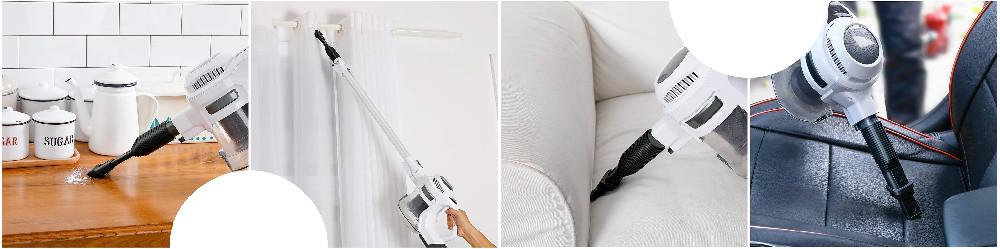 MOOSOO Cordless Vacuum Cleaner Review