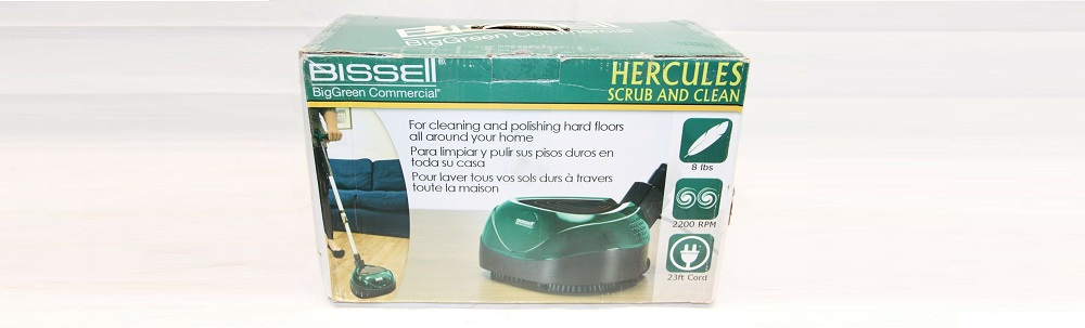 Bissell BigGreen BGFS650 Hercules Scrub and Clean Floor Machine Review