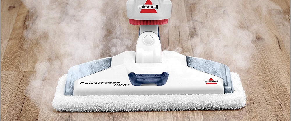 Bissell Powerfresh Deluxe Steam Mop, Steamer, Tile, Hard Wood Floor Cleaner