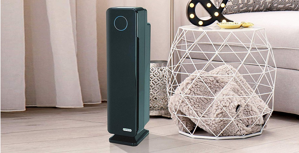 "GermGuardian AC5350B 28"" 4-in-1 Large Room Air Purifier"