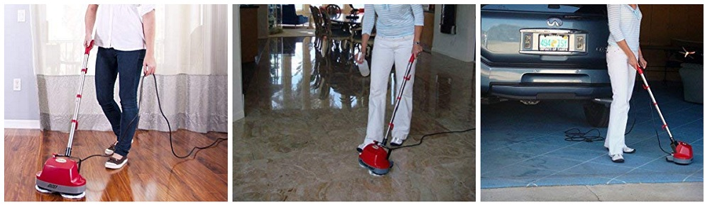 Gloss Boss Mini Floor Scrubber And Polisher - B200752