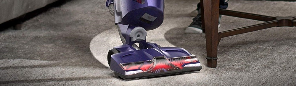 Hoover Power Drive Pet Bagless Upright Vacuum UH74210PC Purple