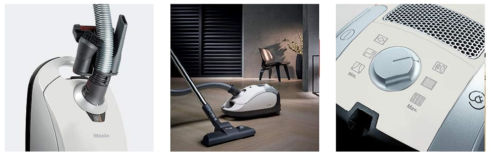 Miele Pure Suction Canister Vacuum Lotus White 2