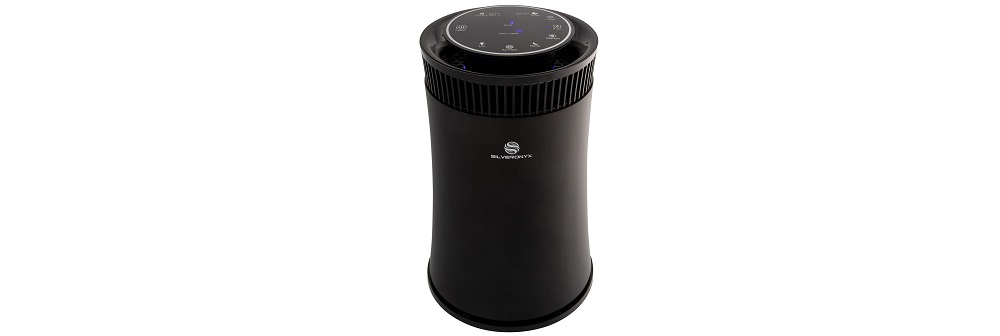 SilverOnyx Air Purifier for Home with True HEPA Carbon Filter, UV Light