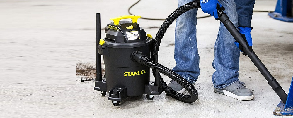 Stanley Wet Dry Vacuum, 6 Gallon, 4 Horsepower