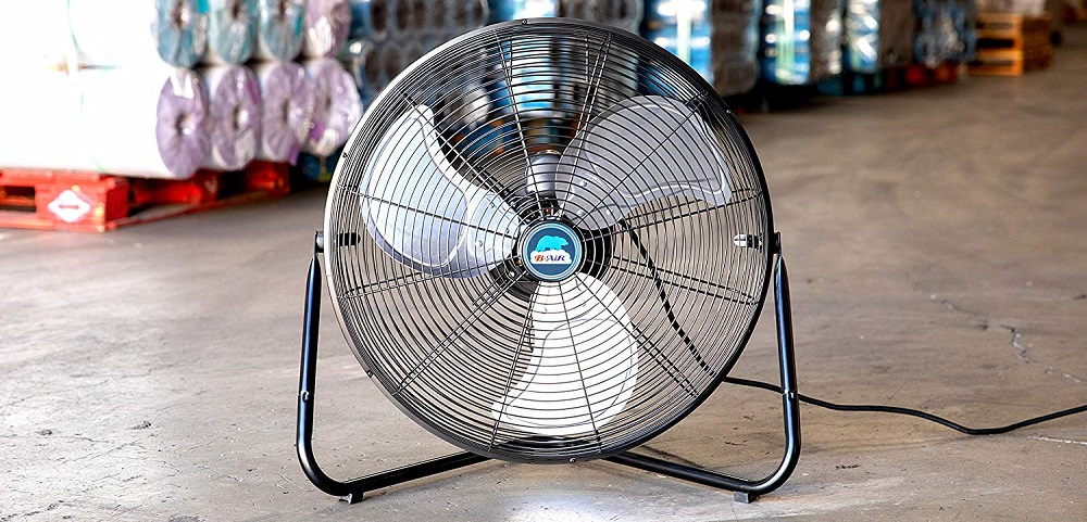 B-Air FIRTANA-20X High Velocity Electric Industrial and Home Floor Fan