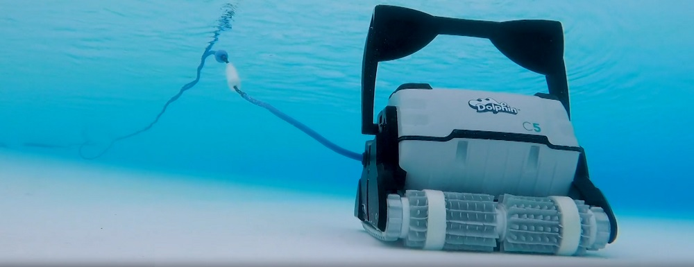 Dolphin C5 Commercial Robotic Pool Cleaner Review