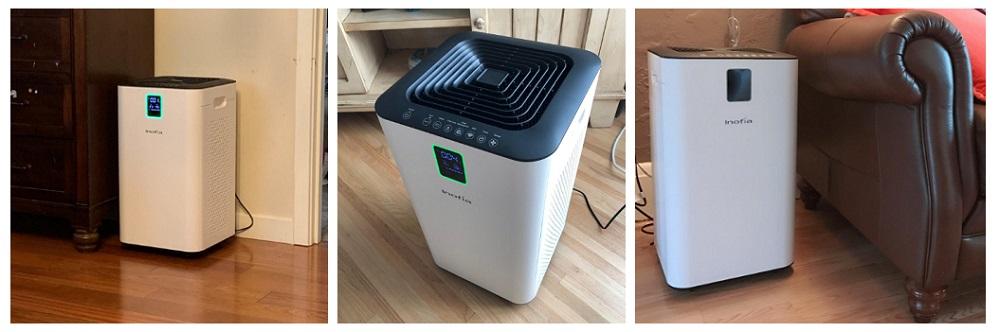 Inofia Air Purifier with True HEPA Air Filter
