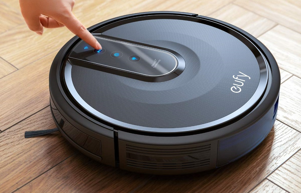 eufy [BoostIQ RoboVac 35C, Wi-Fi, Upgraded, Super-Thin,1500Pa Strong Suction, Touch-Control Panel