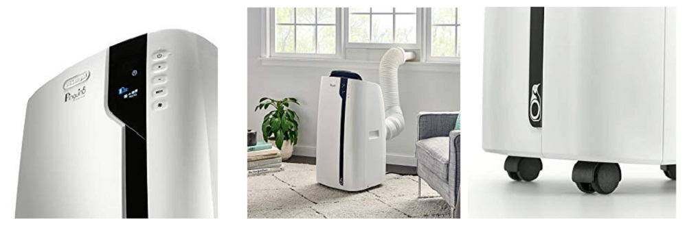 DeLonghi Pinguino Deluxe Portable Air Conditioner 600 sq. ft. White