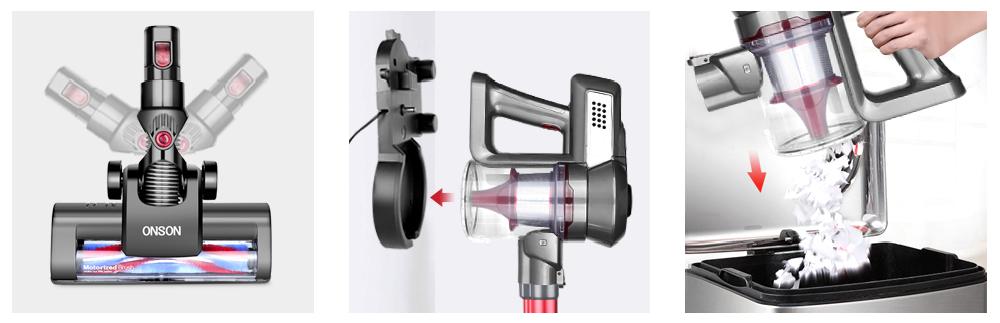 Cordless Vacuum ONSON Stick Vacuum Cleaner
