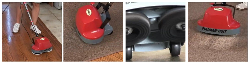 Gloss Boss Mini Floor Scrubber vs. Homitt Electric Spin Scrubber