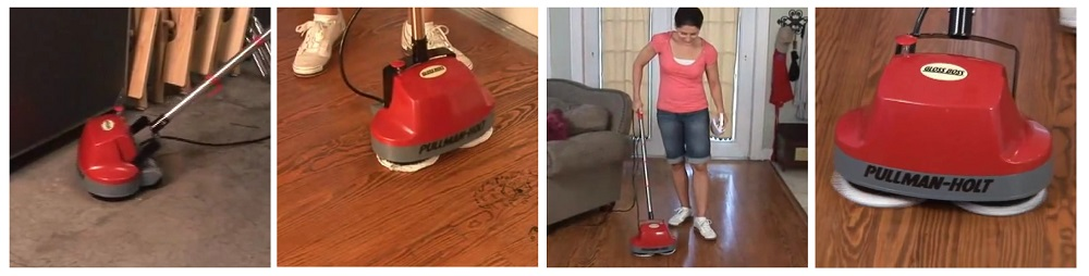 Gloss Boss Mini Floor Scrubber