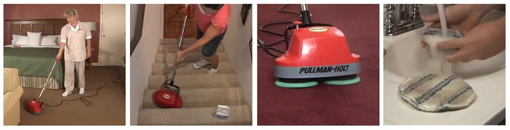 Gloss Boss Mini Floor Scrubber vs. Oreck Commercial ORB550MC