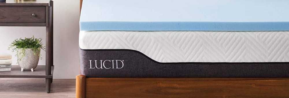 LUCID 2 Inch Gel Infused Memory Foam Mattress Topper Review