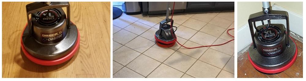 Oreck Commercial Orb550mc Vs Gloss Boss Mini Floor Scrubber