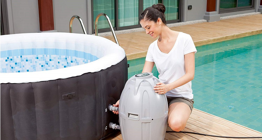 SaluSpa Inflatable Hot Tub
