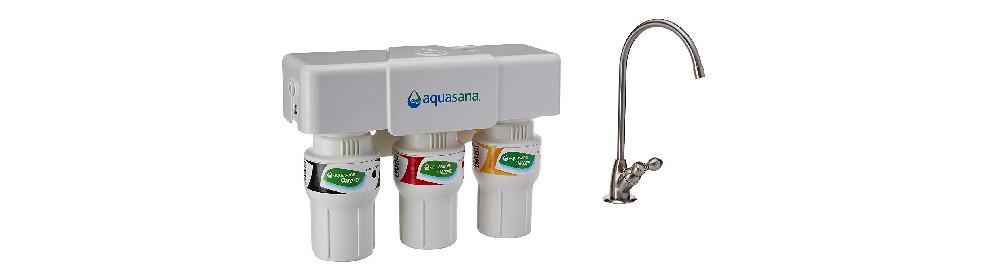 Aquasana 3-Stage Under Sink Water Filter System