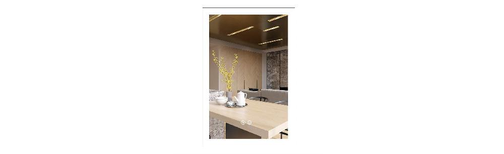 BATH KNOT Bathroom Smart Backlit Lighted Mirror
