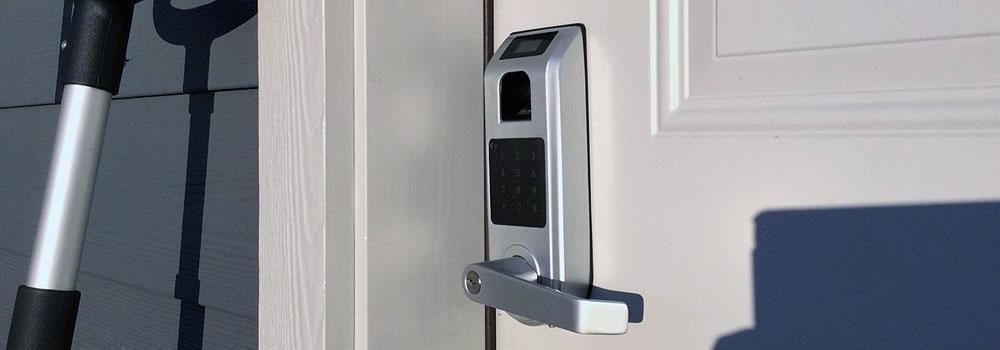 Keyless Entry Door Lock, ARDWOLF A10 Fingerprint Touchscreen Smart Door Lock with Visual Menu Display