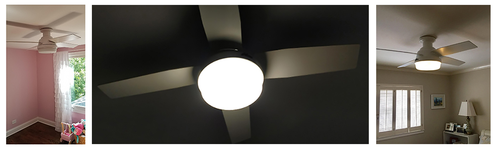 Hunter Indoor Low Profile Ceiling Fan