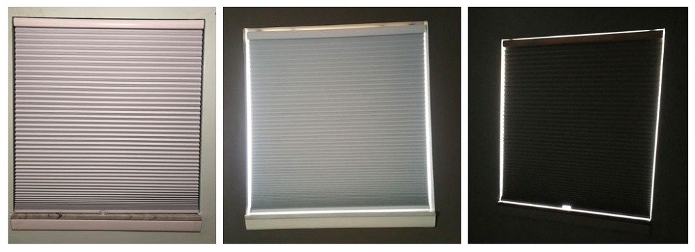 Arlo Blinds 9/16 Single Cell Room Darkening Cordless Cellular Shades, Color: White