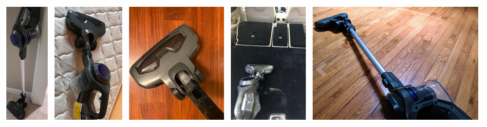 MOOSOO M X6 Cordless 4 in 1 Powerful Suction 10Kpa Stick Handheld Vacuum Cleaner for Home Hard Floor Carpet Car Pet Lightweight