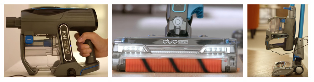 Shark DuoClean Cordless Ultra-Light Vacuum IONFlex, IF201, Green