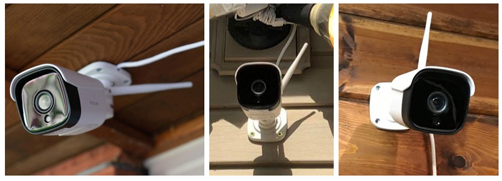 Victure Outdoor Security Camera HD Weatherproof WiFi Connected Camera