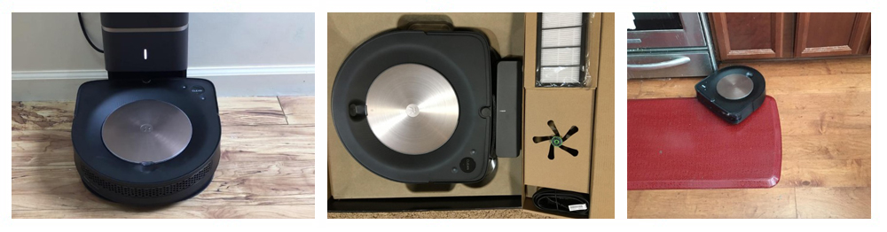 iRobot Roomba s9+ (9550) Robot Vacuum with Automatic Dirt Disposal- Wi-Fi Connected