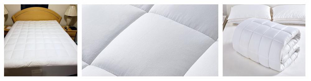 oaskys Queen Mattress Pad Cover Cooling Mattress Topper Cotton Top Pillow Top