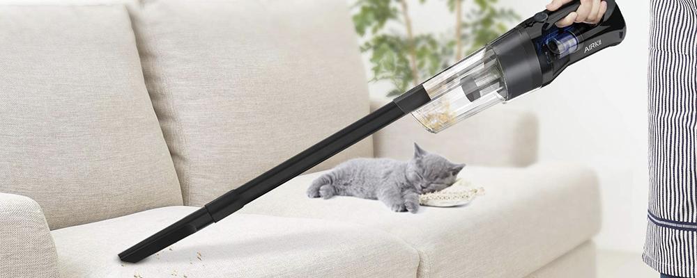 AIRKII Portable Handheld Vacuum Cleaner Review