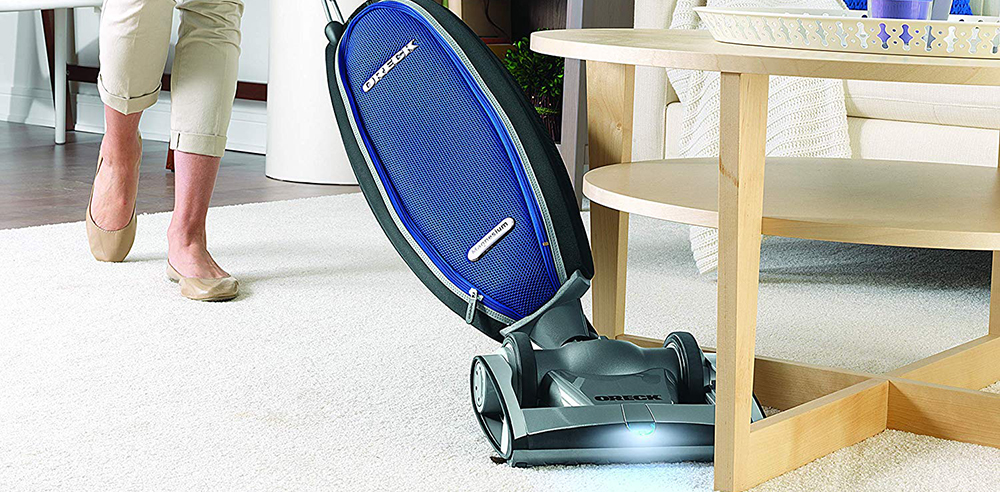 Oreck Magnesium RS Swivel-Steering Upright Vacuum Cleaner, with HEPA Filter Bag