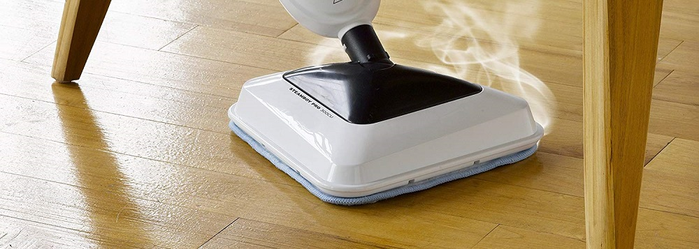 Reliable Steamboy 300CU 3-in-1 Steam and Scrub Mop
