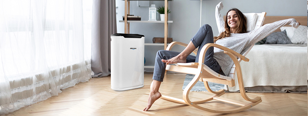 Okaysou 5-in-1 True HEPA Air Purifier for Large Room