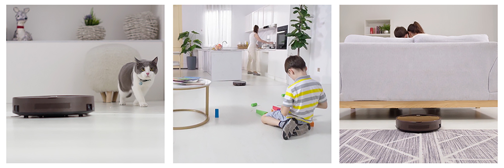 Robot Vacuum with Smartphone Functionality