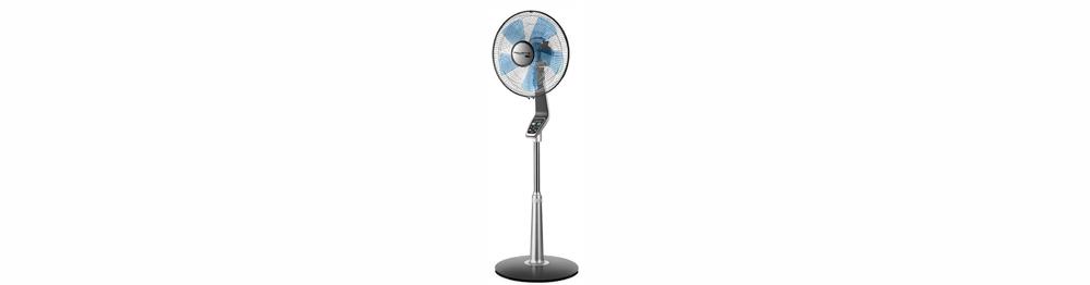 AmazonBasics Oscillating Dual Blade Standing Pedestal Fan