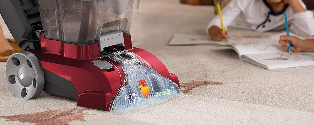 Hoover Fh50150 Power Scrub Deluxe Carpet Cleaner Review