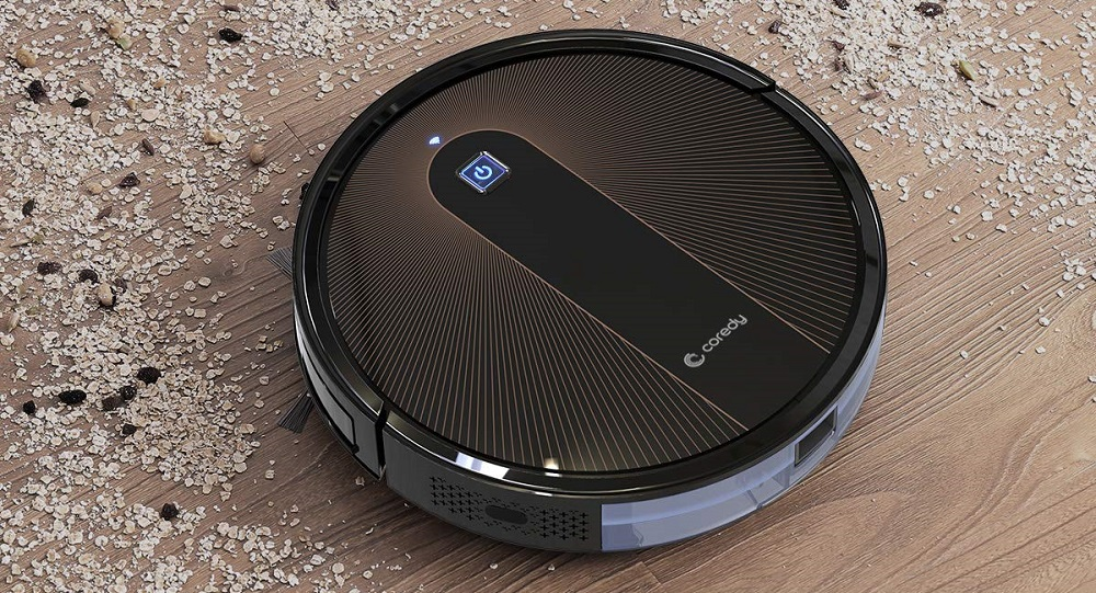 Coredy R750 Robot Vacuum Cleaner Review